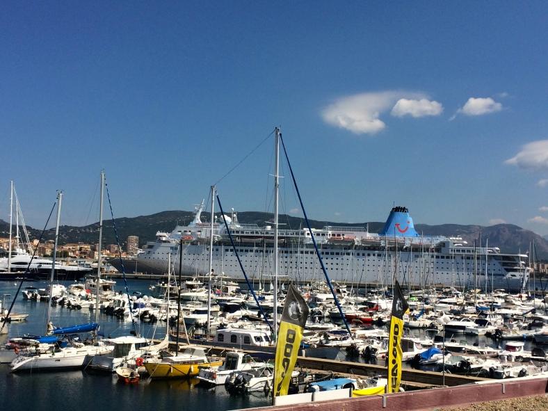 přístav Ajaccio