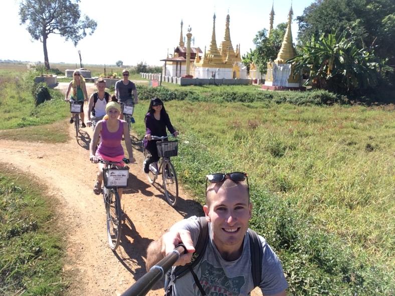 Barmou na kole :)