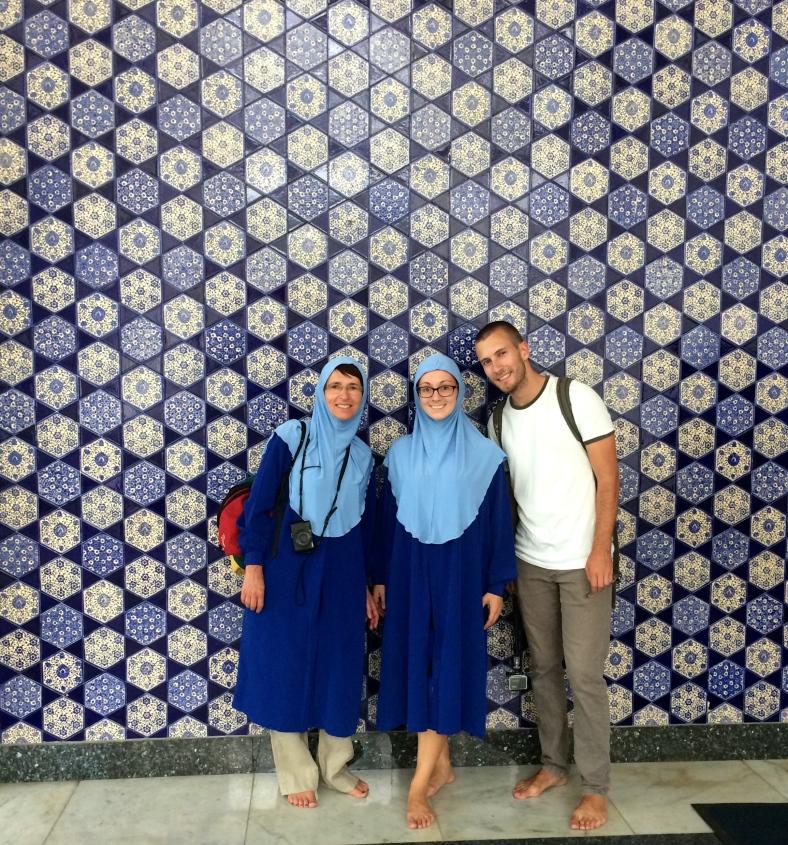 Kachličková stěna dovezená až z Istanbulu!