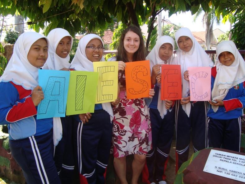 Moje stáž díky AIESEC :)