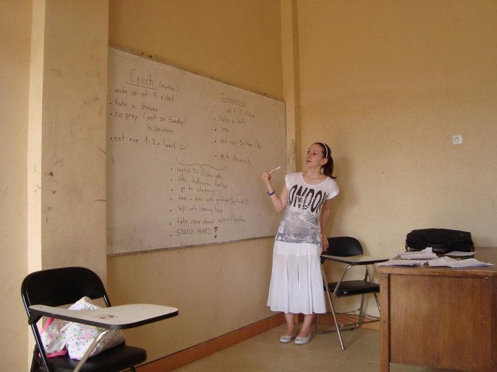 Jako paní učitelka... rozdíly mezi životem v ČR a Indonésii...