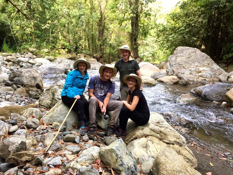 Z dvoudenního výletu deštným pralesem na Borneu