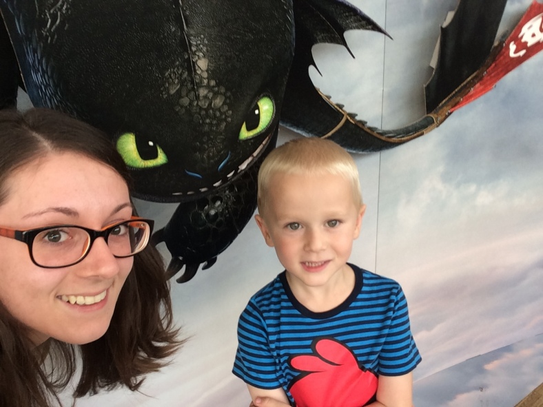 S Peťák na premiéře How to train your dragon 2 <3